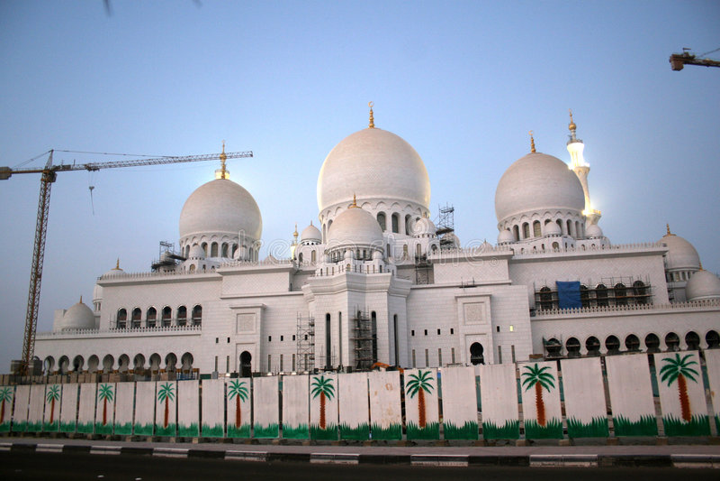 Mesquita grande fotos de stock