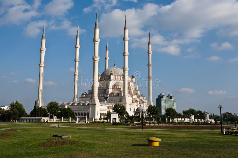 Mesquita grande de Adana. fotografia de stock