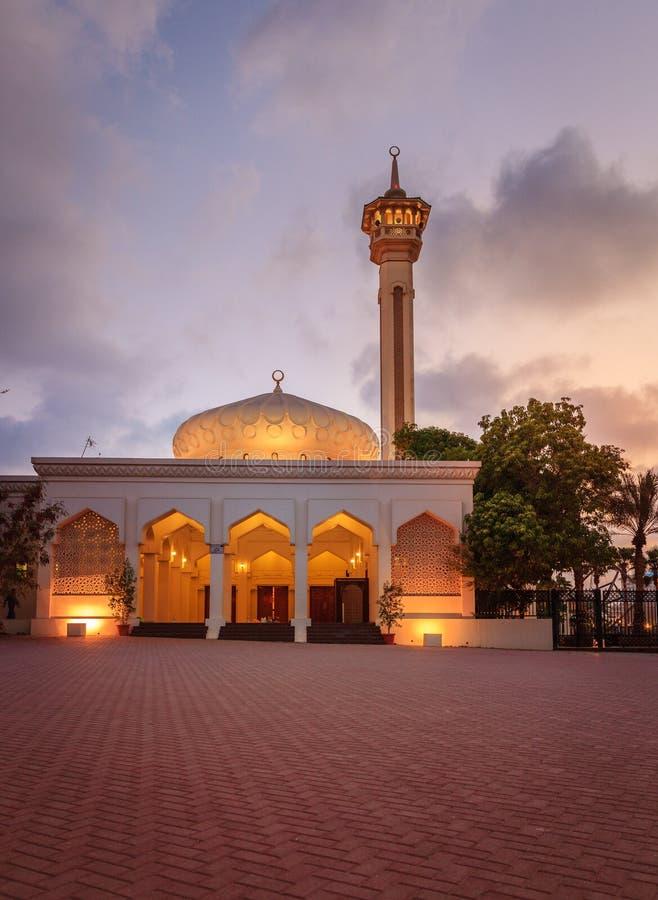 Mesquita grande de Dubai imagem de stock