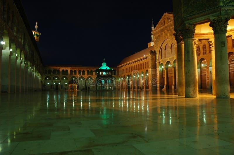 Mesquita grande de Umayyad imagens de stock royalty free