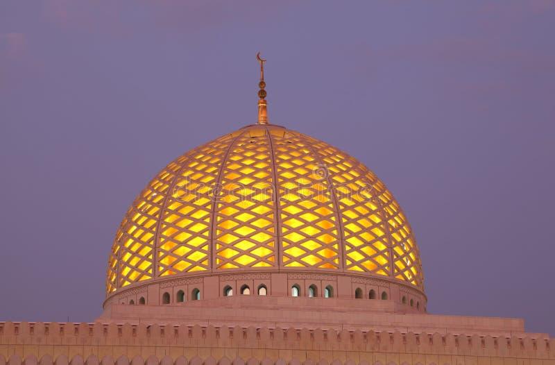 Mesquita grande no Muscat, Oman fotos de stock