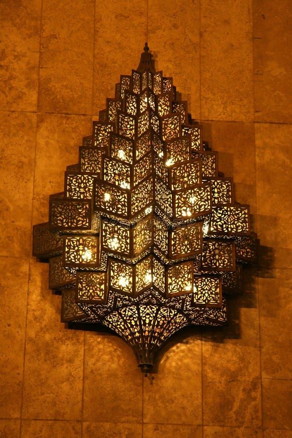 Mesquita Hassan II imagens de stock