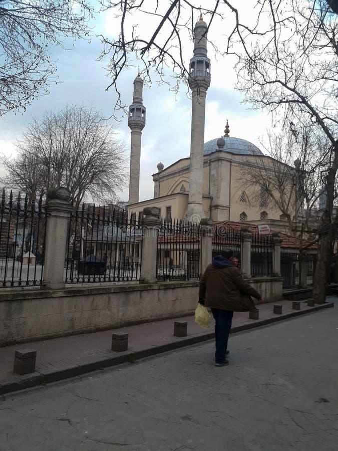 Mesquita histórica Kasimpasa Istambul imagens de stock