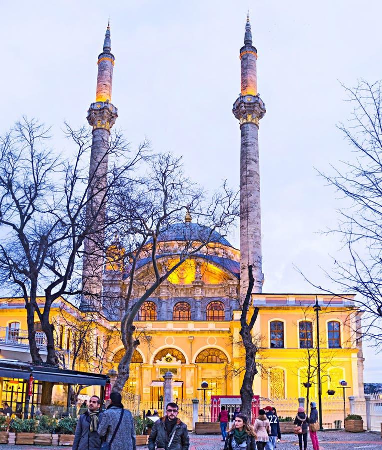 Mesquita imperial grande foto de stock