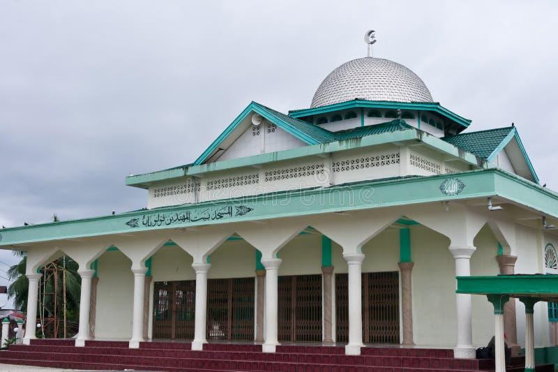 Mesquita islâmica no console de Balai imagens de stock royalty free