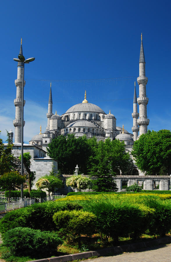 Mesquita Istambul de Sultanahmet imagem de stock