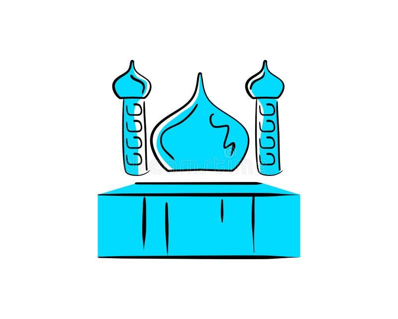 Mesquita Logo Design ilustração royalty free