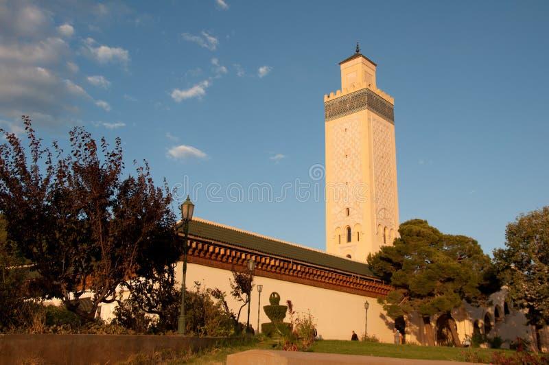 Mesquita marroquina fotos de stock royalty free