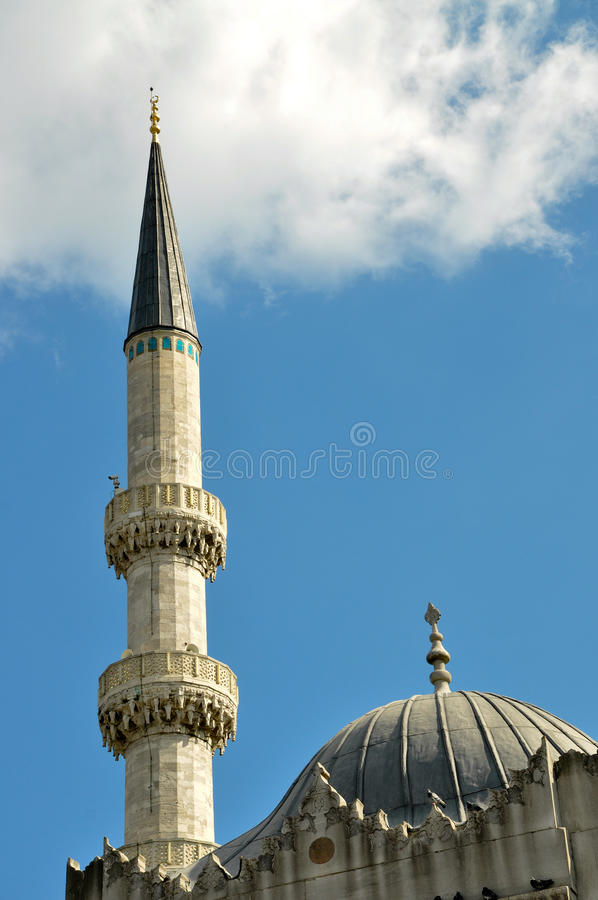 Mesquita, minarete foto de stock