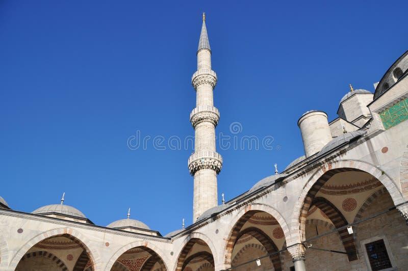 Mesquita, minarete imagem de stock royalty free