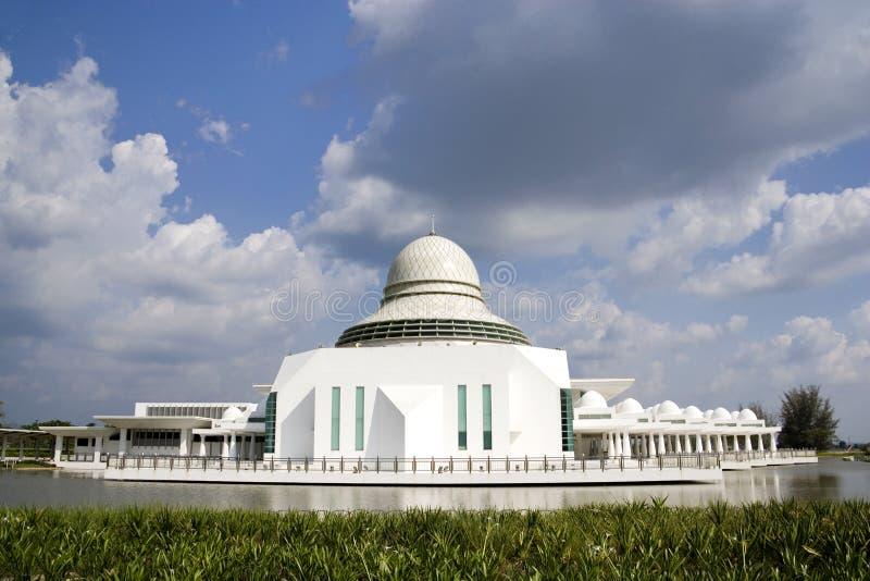 Mesquita moderna de flutuação foto de stock
