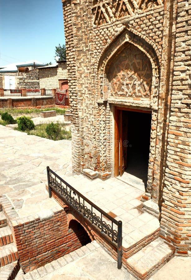 Mesquita muçulmana velha imagem de stock royalty free
