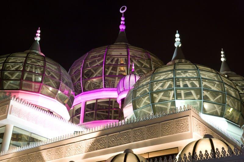 Mesquita na noite foto de stock royalty free
