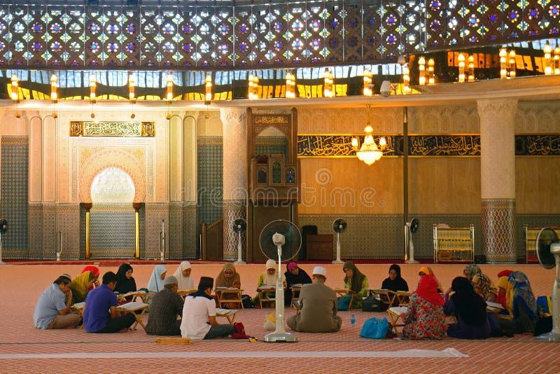Mesquita nacional, Kuala Lumpur, malaysia imagem de stock royalty free