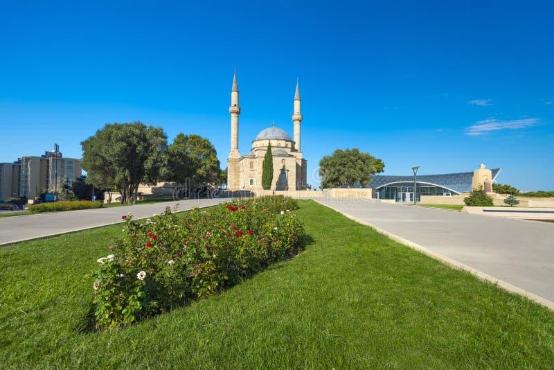 Mesquita no parque do Upland imagens de stock