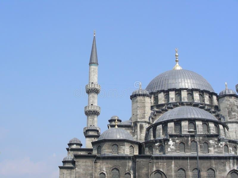 A mesquita nova (de Yeni) em Istambul fotografia de stock