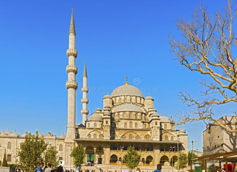 Mesquita nova em Istambul, Turquia imagem de stock