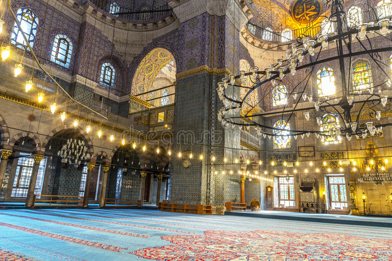 Mesquita nova Istambul fotos de stock royalty free