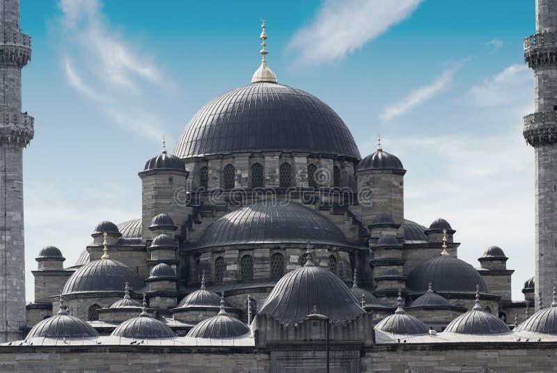 Mesquita nova (Yeni Cami) no distrito de Eminonu de Istambul imagem de stock royalty free