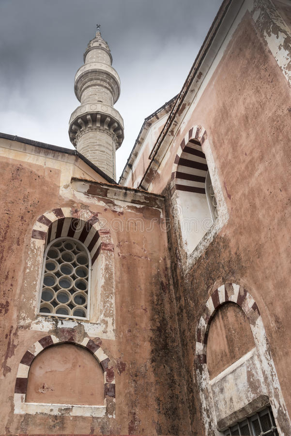 A mesquita o Rodes de Suleymaniye fotos de stock