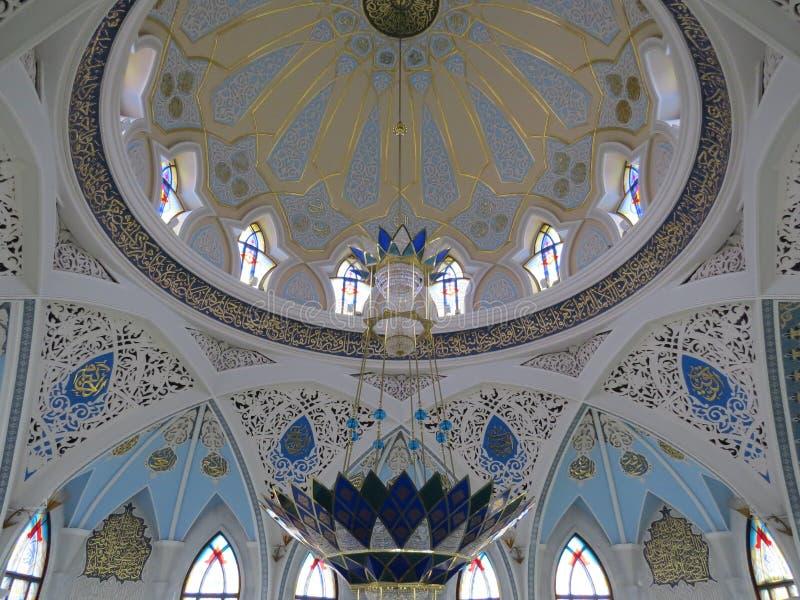 A mesquita principal de Kazan Kul Sharif no Kremlin fotografia de stock royalty free