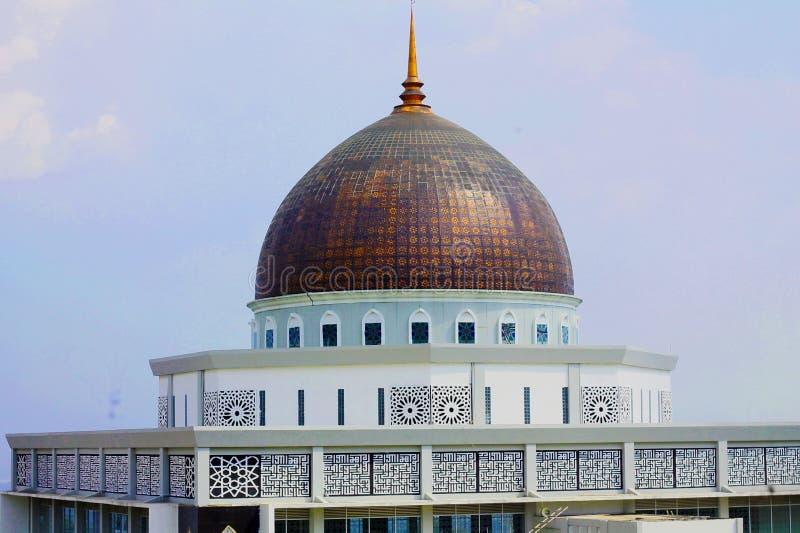 A mesquita surpreendente no Bandung imagem de stock