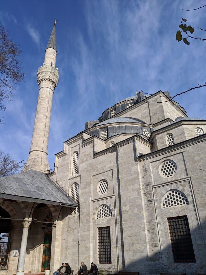 Mesquita turca antiga foto de stock