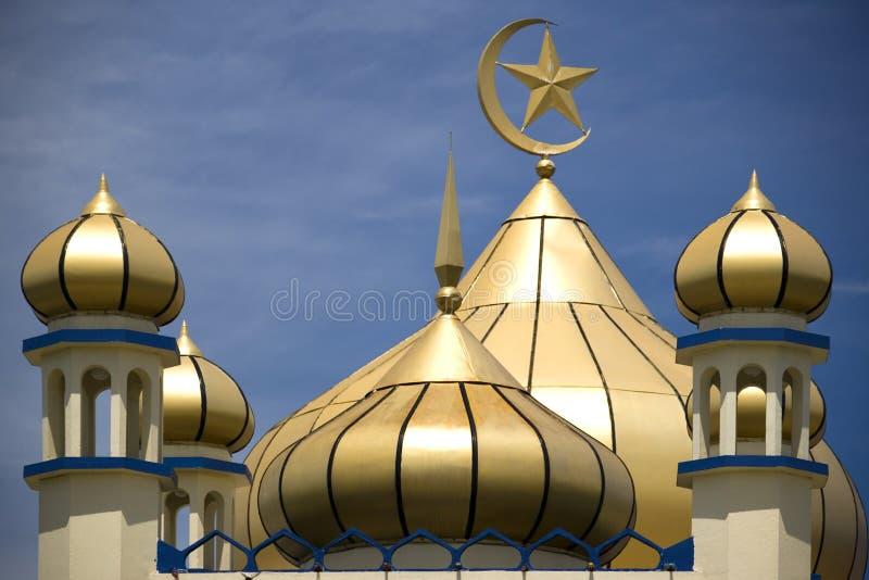Mesquita velha da cidade pequena fotografia de stock royalty free