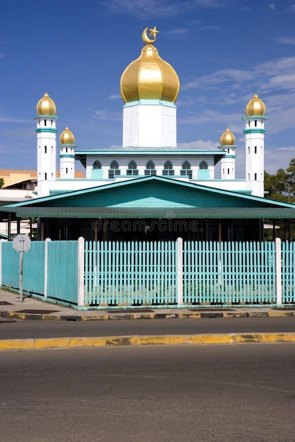 Mesquita velha da cidade pequena fotos de stock