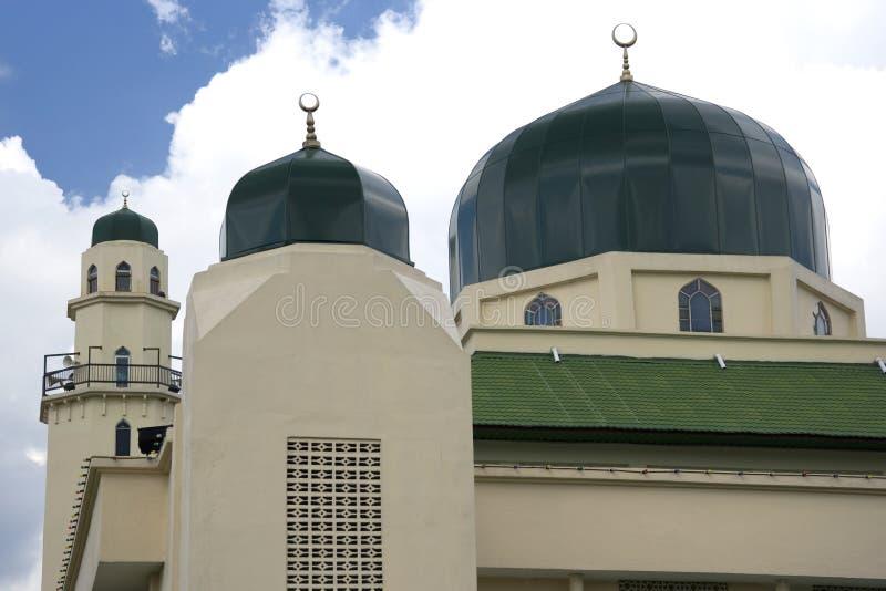 Mesquita verde imagem de stock