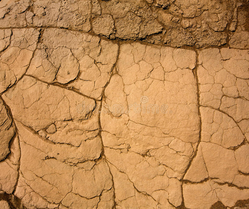 Download Mesquite Dunes Dried Clay Detail In Death Valley Stock Image - Image: 33618785