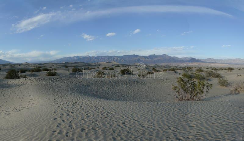 Mesquiteduinen - Doodsvallei Californië stock foto