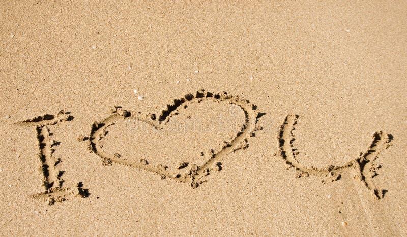 Message - amour u d'I images libres de droits