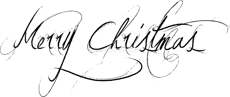 Message avec texte de Joyeux Noël illustration stock