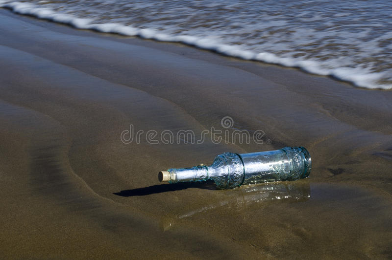 Download Message in a bottle stock image. Image of paper, bottle - 25508759
