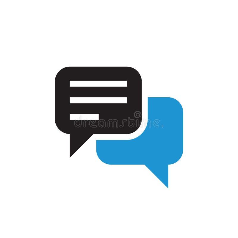 Message chat icon design. Speech bubble communication. Vector illustration. royalty free illustration