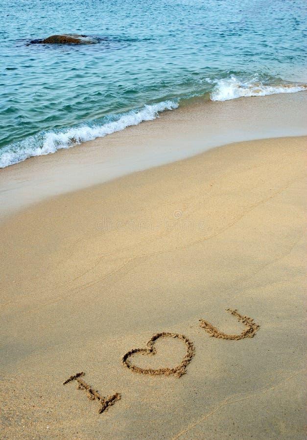 Message d'amour photographie stock libre de droits