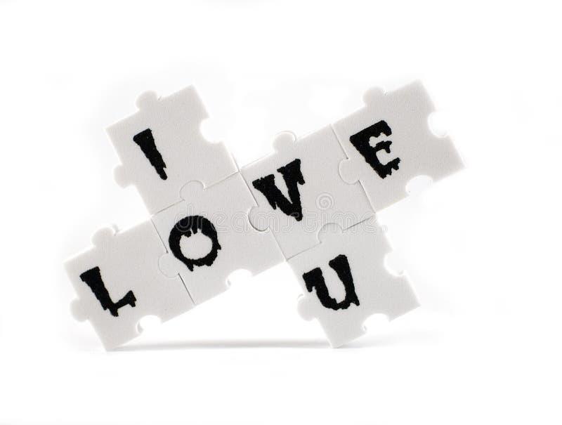 Message D Amour Photo libre de droits