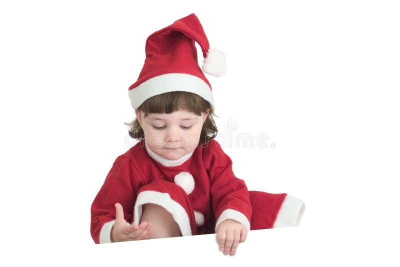 Message de Noël image libre de droits