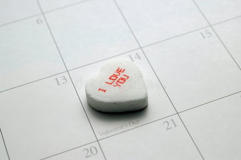Message de Valentine images stock