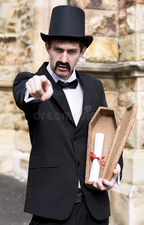 Message From The Grave Stock Images