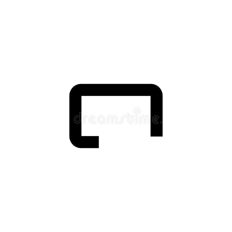 Message icon. Chat sign. Logo vector stock images