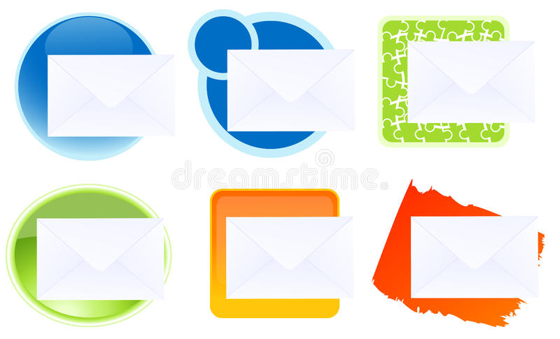 Download Message icons stock illustration. Illustration of collection - 13347484