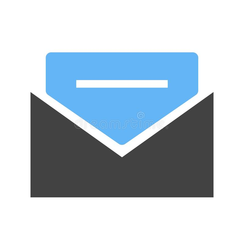 Message III Icon. Mail, communication, letter icon image. Can also be used for email, communication and messaging. Suitable for mobile apps, web apps and print vector illustration