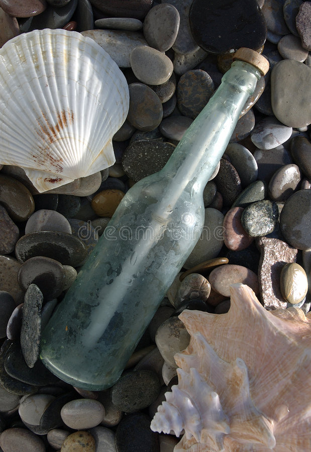 Free Message In A Bottle (2) Stock Images - 124914