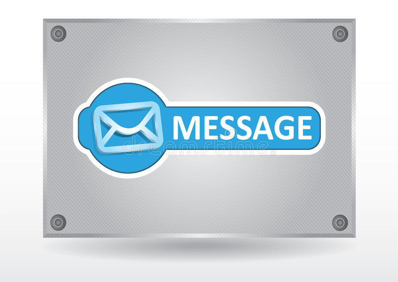 Message Pane Royalty Free Stock Image
