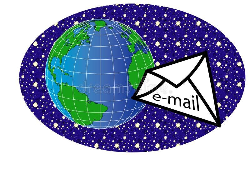 message2 świat ilustracja wektor