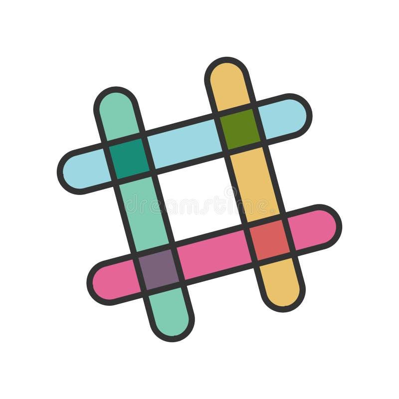 Messager de Microsoft illustration libre de droits