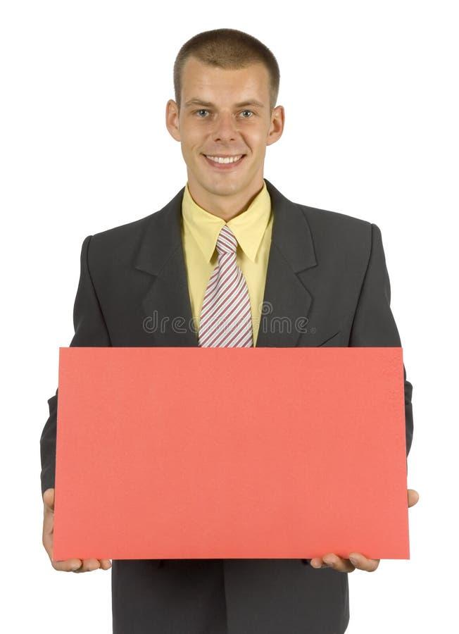 Messaggero immagine stock