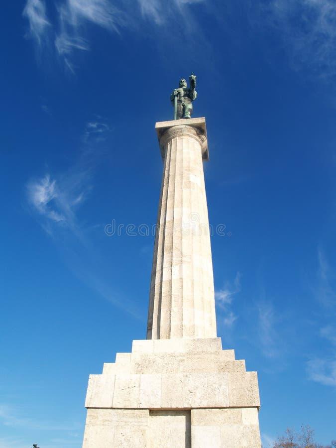 Messaggero della statua di vittoria fotografie stock libere da diritti